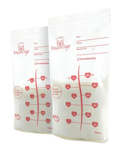 Photo of Bow Tiger Breastmilk Storage Bags