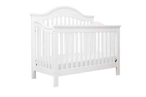 DaVinci Jayden 4-in-1 Convertible Crib with Toddler Rail