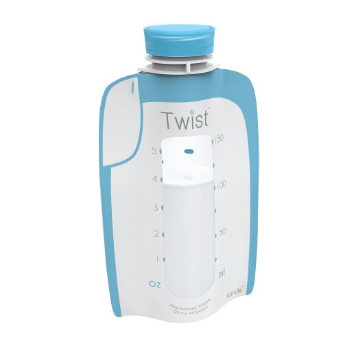 Photo of the Kiinde Breast Milk Storage Twist Pouch
