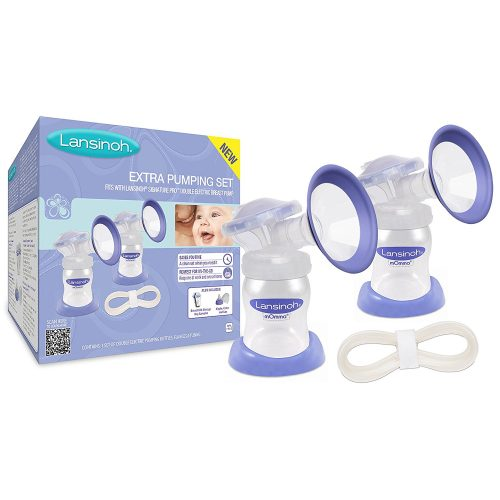 Photo of Lasinoh's best breast pump with additional pump included