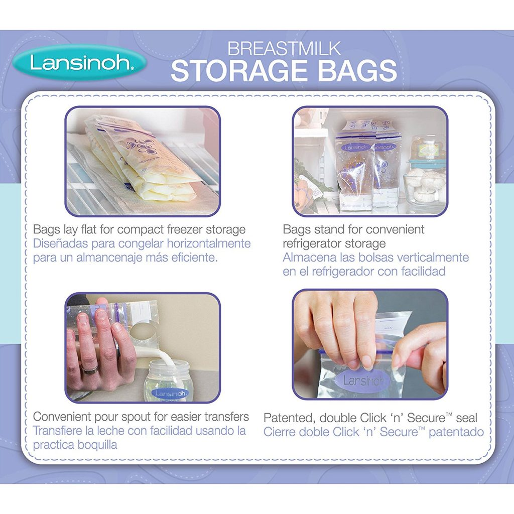 Lasinoh Best Breastmilk Storage Bags