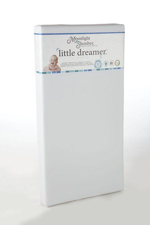 Moonlight Slumber Little Dreamer Dual Firmness Best Crib Mattress