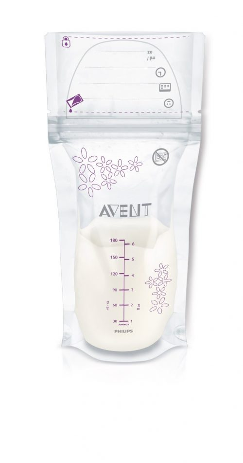 Photo of the Philips AVENT Breast Milk Storage Bags