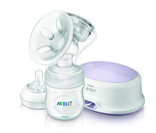 Photo of the Philips Avent breast pump