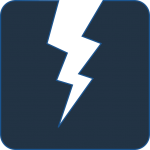 Icon of a lightning bolt