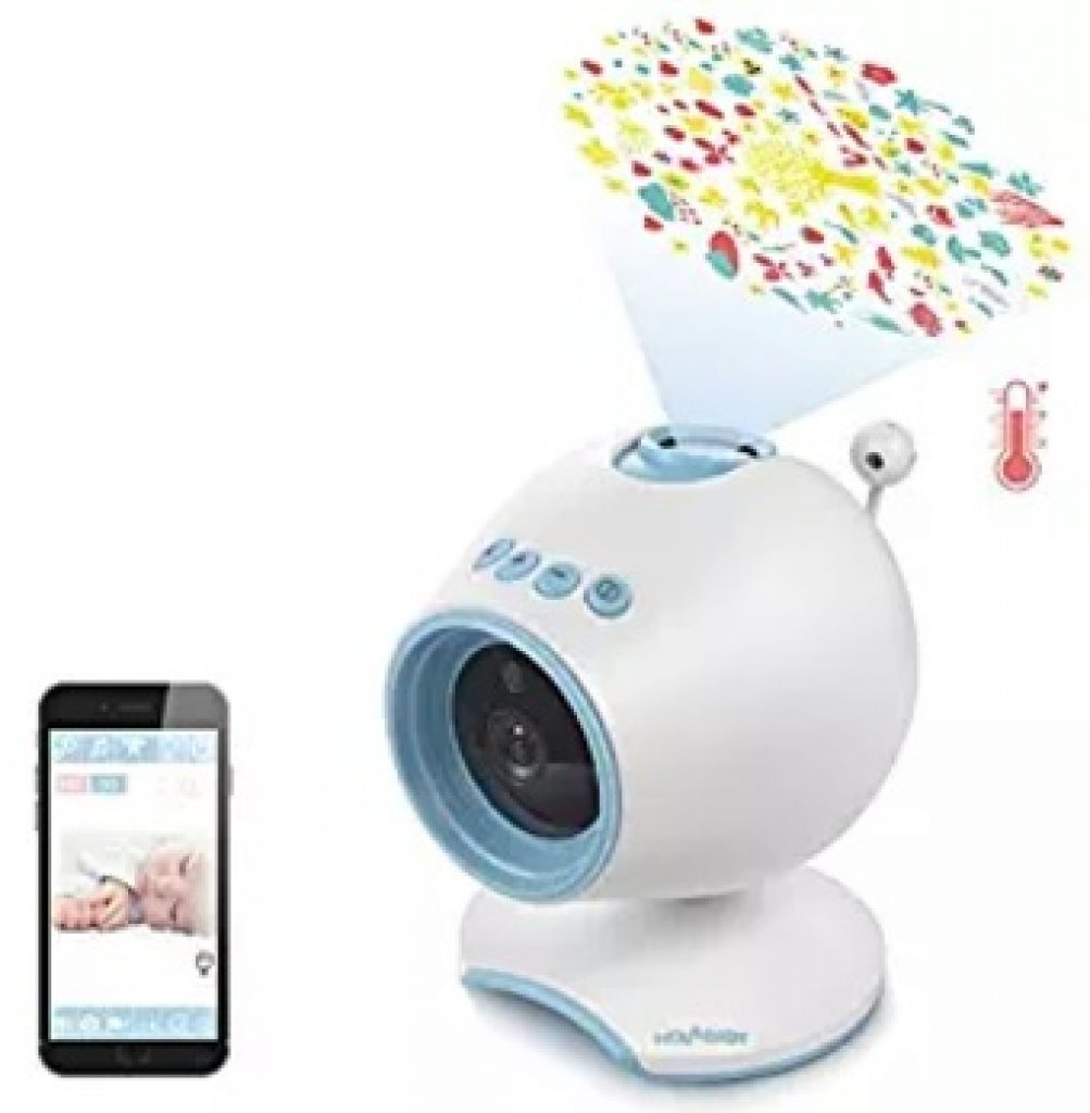 The Holababy P1 HD Video Baby Monitor